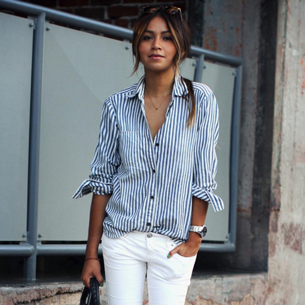 Bloggr - Camisa Rayas